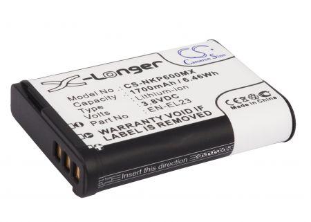 Batteri til Nikon Coolpix P600 3.8V 1700mAh EN-EL23